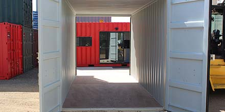 High Cube 20ft Containers